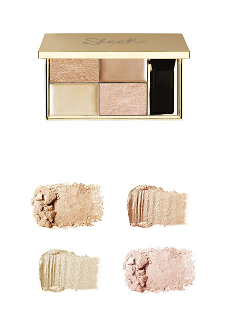 a photo of  Sleek makeup Golden Highlighting Palette