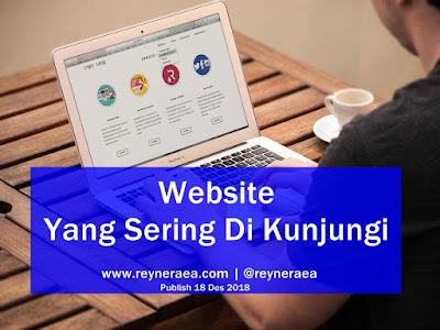website atau blog yang sering dikunjungi
