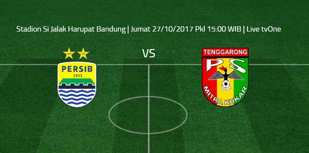 Kick-off Persib vs Mitra Kukar