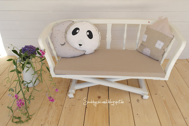 Kinderbank im Shabby Look