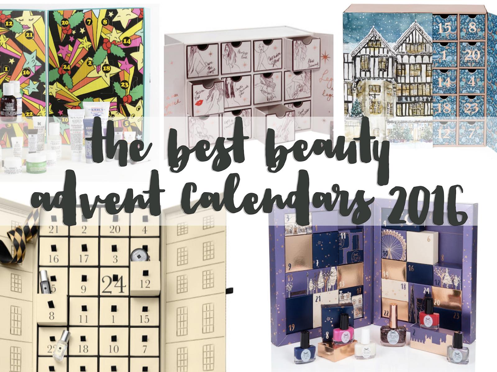 Advent Calendar 2016 Beauty : The best beauty advent calendars for flutter and