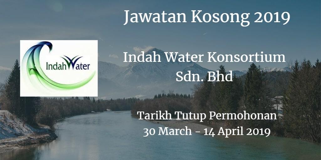 Jawatan Kosong Indah Water Konsortium Sdn. Bhd 27 April - 16 May 2019