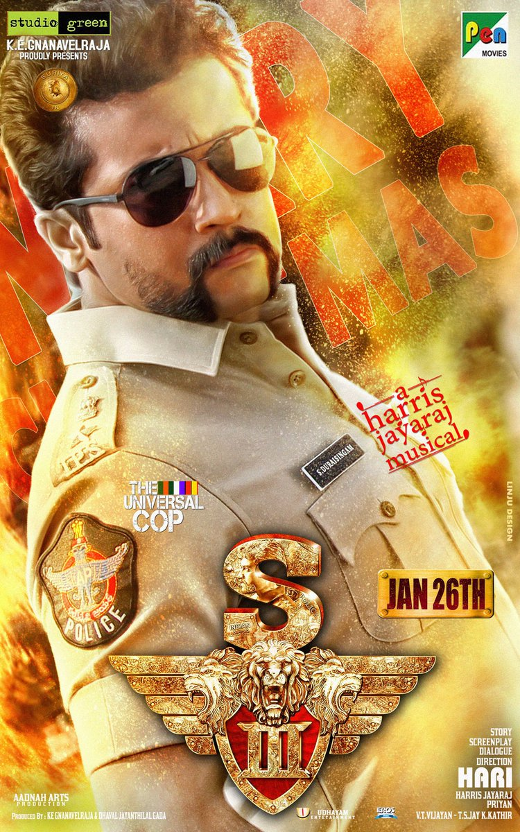 Singham 3 Release Date Posters - Cinema65.com