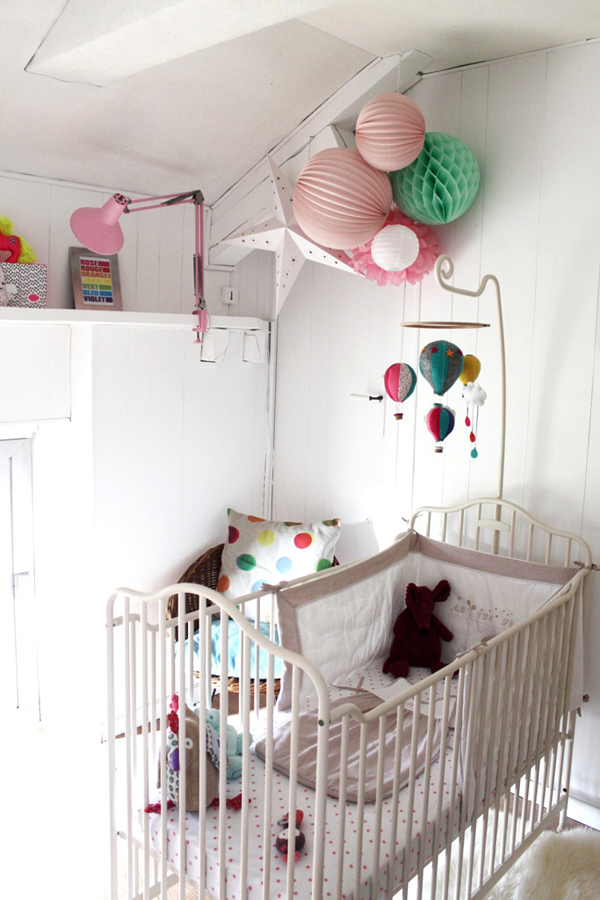Deconi os una habitaci n bohemia y colorista en 10 m2 - Amenagement chambre bebe 10m2 ...
