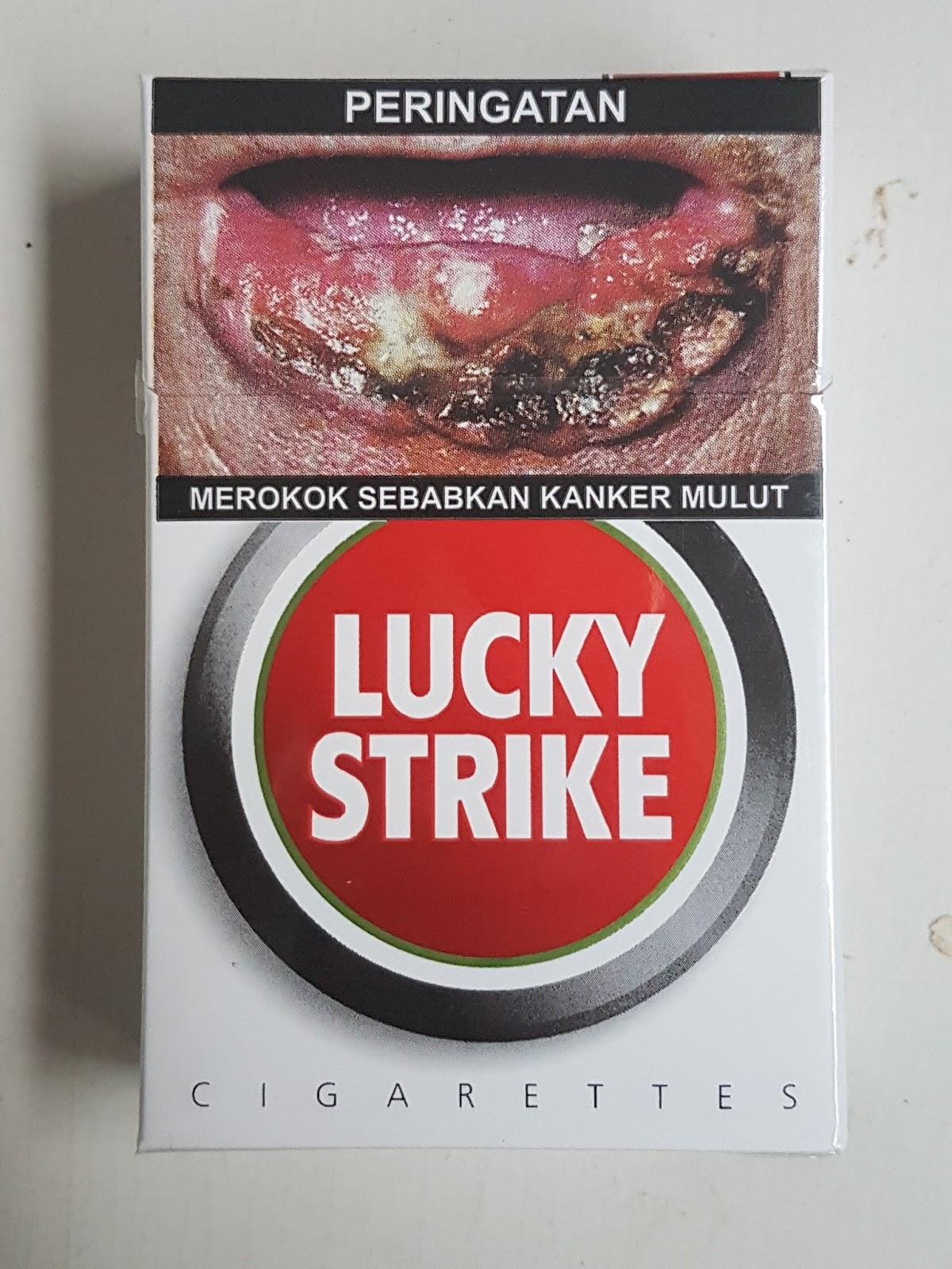 Lucky Strike Original Red (Merah), SPM Full Flavor dengan ...