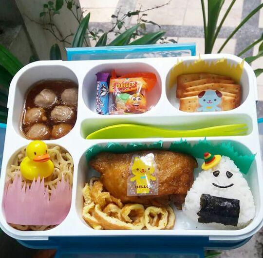 Kreasi Bekal Makanan Untuk Si Kecil