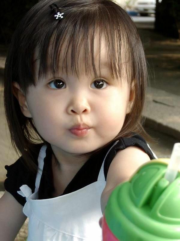 Gratis foto bayi cantik asal cina