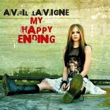 avril lavigne dengan lagunya My happy Ending