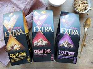 Les nouvelles céréales Kellogg's Extra Créations !