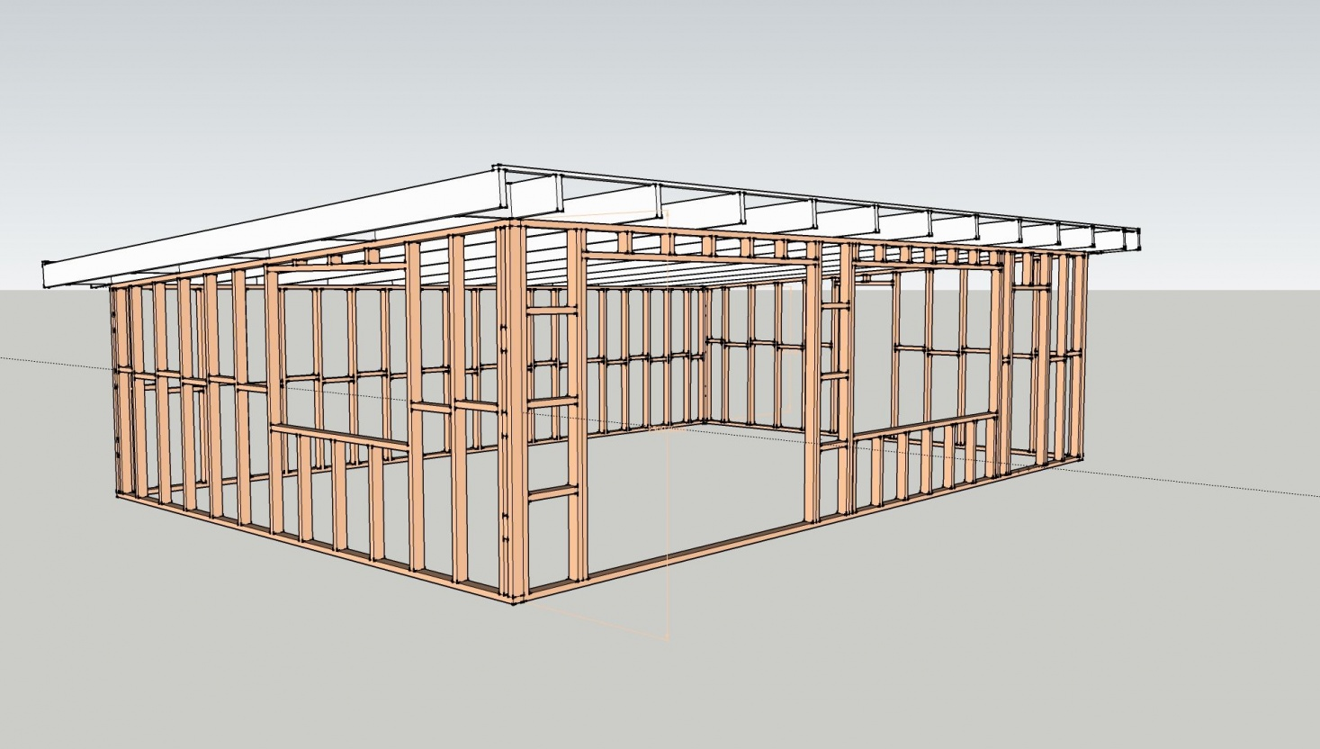 Flat Roof Trusses Plans Myideasbedroomcom