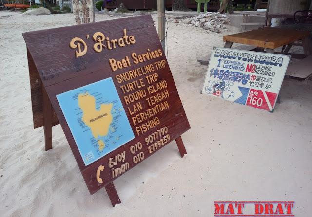 Pakej Snorkeling Pulau Redang