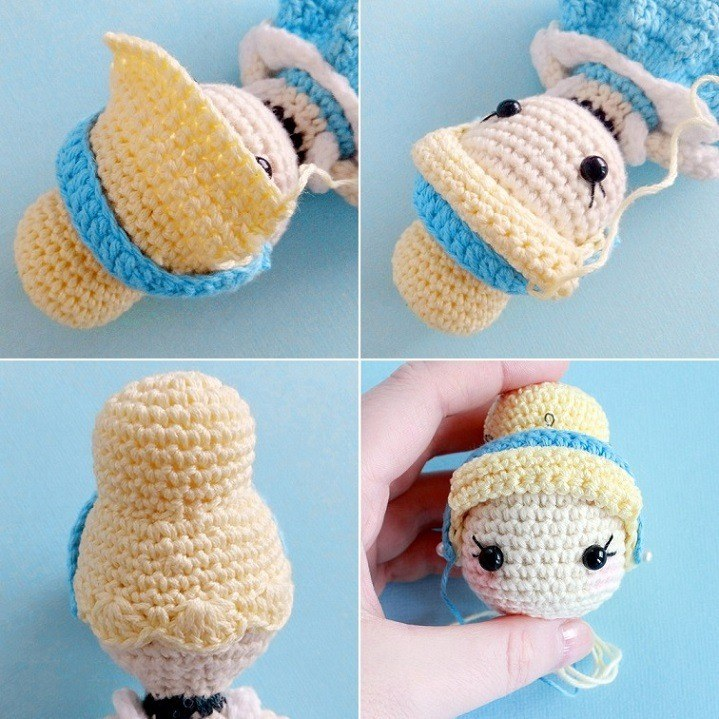 Julie doll amigurumi pattern - Amigurumi Today | 719x719