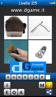PACCHETTO 5 Soluzioni Trova la Parola - Foto Quiz con Immagini e Parole soluzione livello 25
