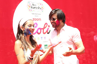 Bollywood and TV Show Celebs Playing Holi 2017   Zoom Holi 2017 Celetion 13 MARCH 2017 055.JPG