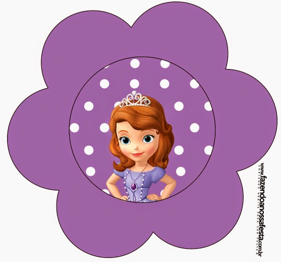 Sofia the First Free Printable Invitations. | Oh My Fiesta
