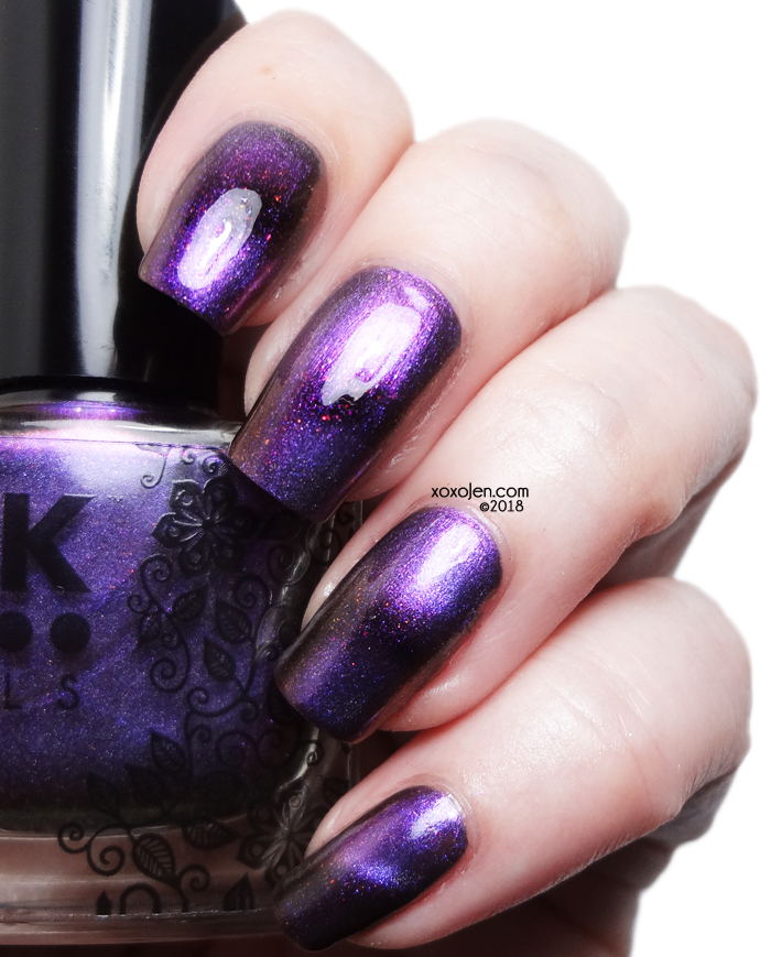 xoxoJen's swatch of DRK Nails El Macho Monster