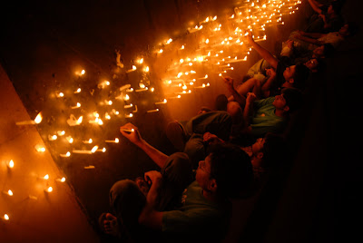 Rohit Kumar Candle Light Ceremony in LLR Hall, IIT Kharagpur