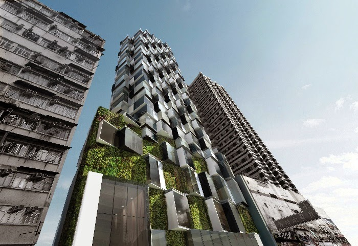LEAF Awards 2014, Mongkok Residence, Hong Kong