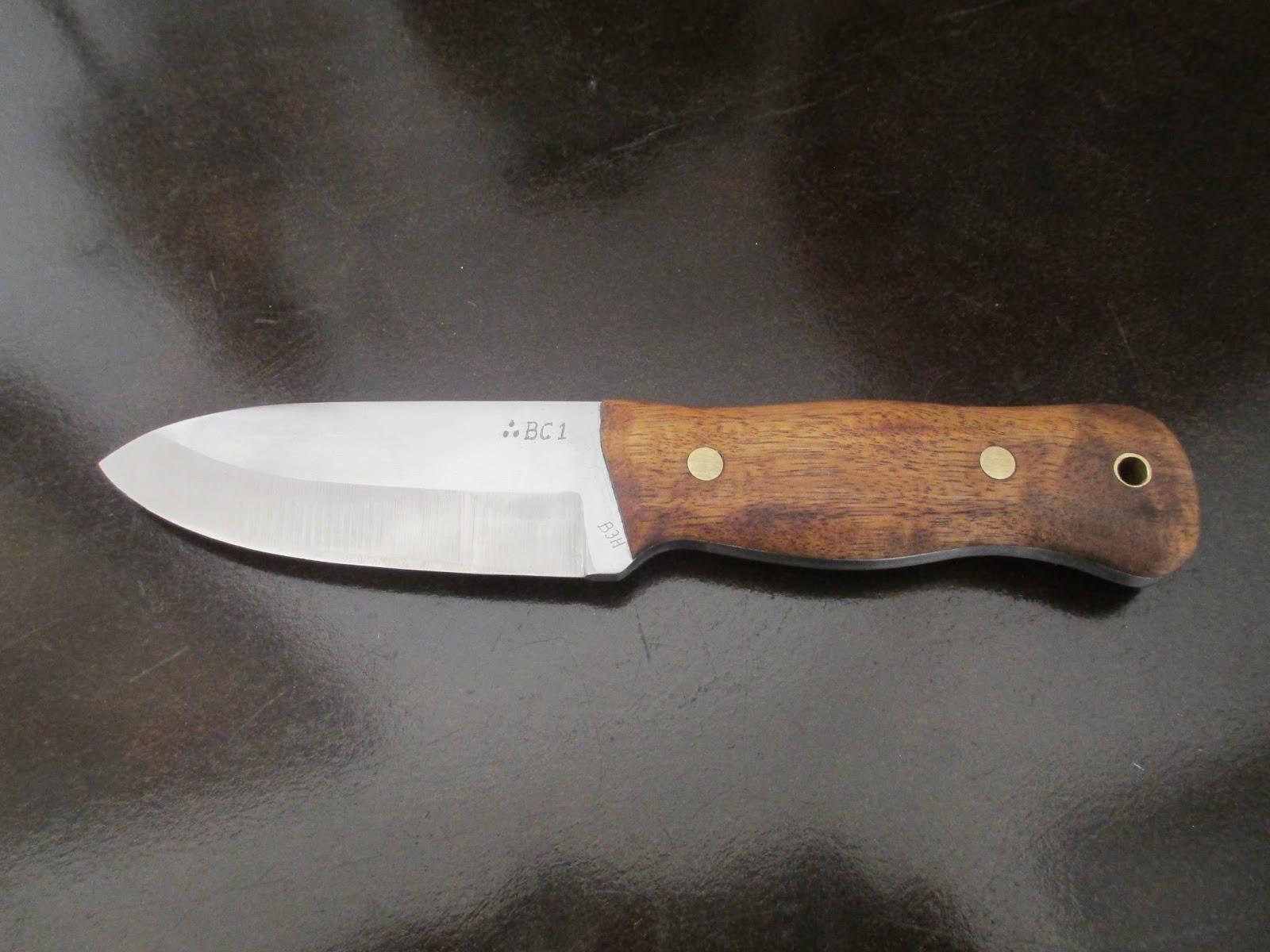 DIY Knifemaker's Info Center: BC1 - MAKING A STOUT BUSHCRAFT