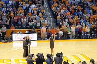 Candace Parker jersey retirement ceremony photos