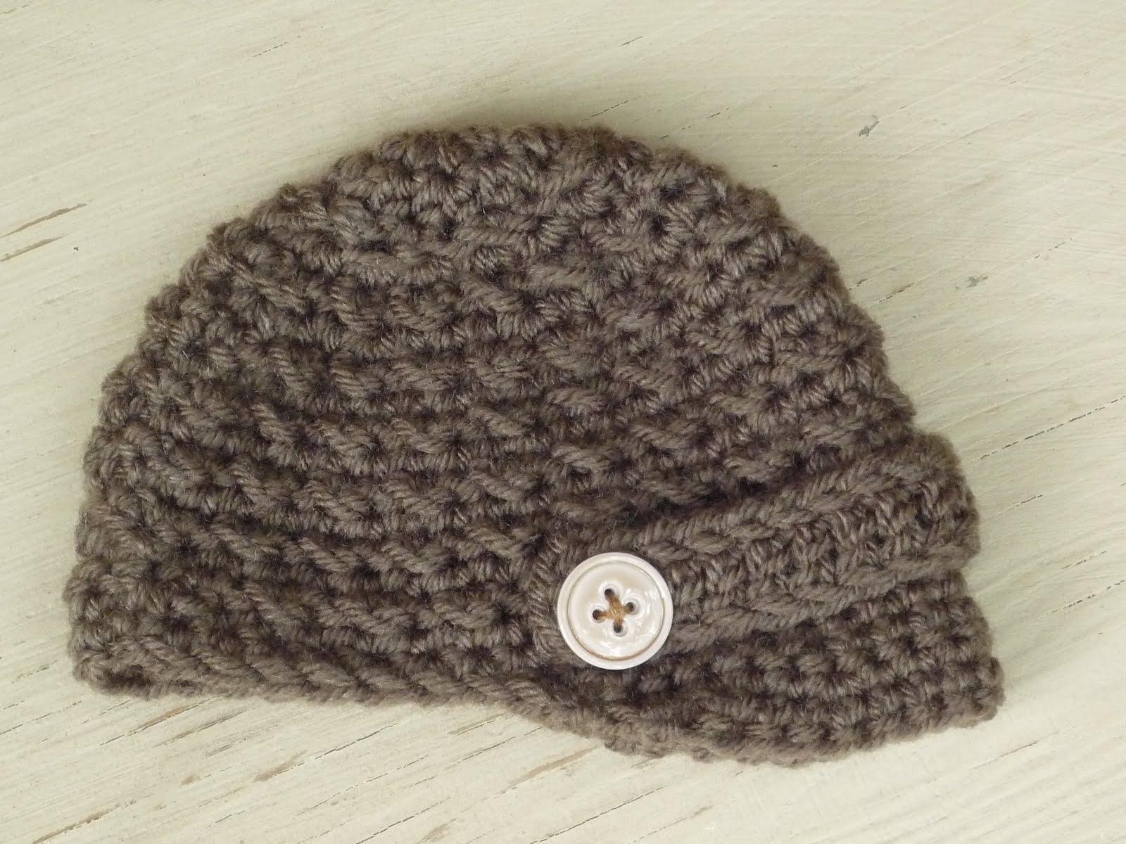 Newsboy Hat Crochet Pattern Easy Crochet Patterns