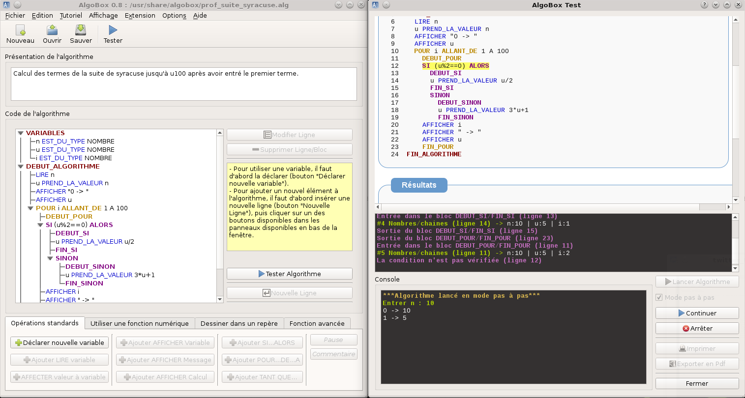 algobox pour mac gratuit