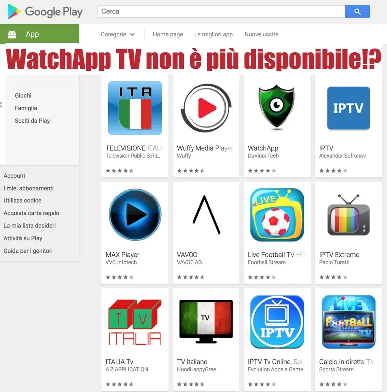 google play store watchapp app