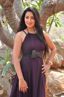 Actress Bhanu Stills in Long Dress at Iddari Madhya 18 Movie Launch  0042.jpg