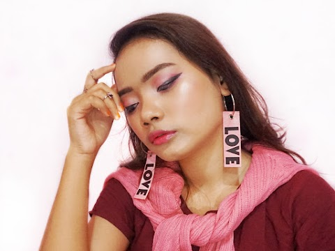 Crazy Rich Asian Makeup Look - Korean Style