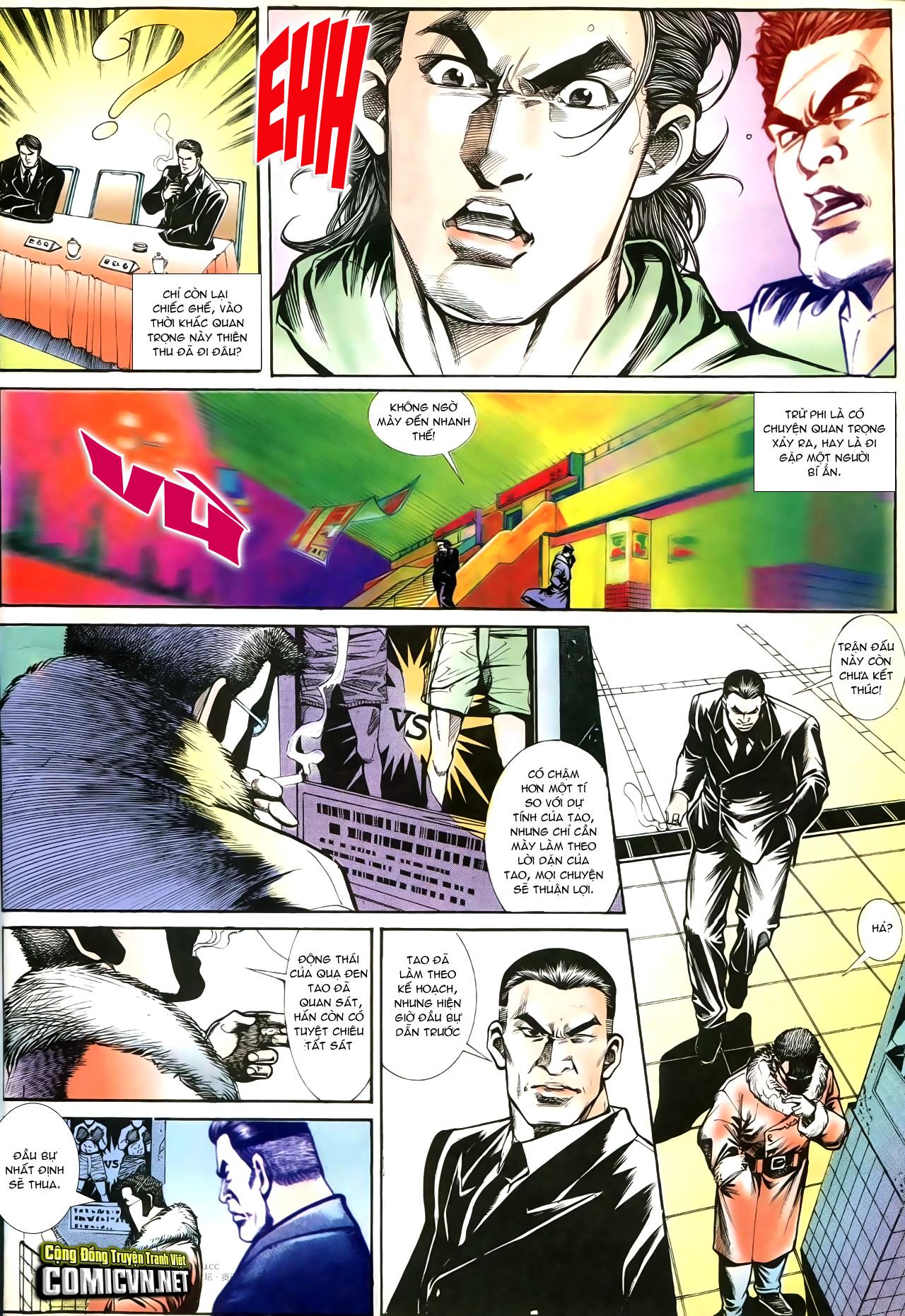 Người Trong Giang Hồ chapter 195: sóng gió ngút trời trang 26