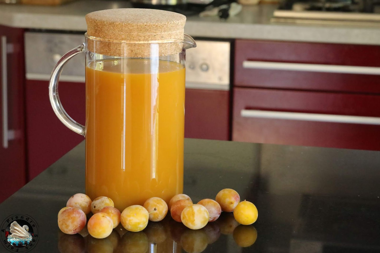 Smoothie mirabelles abricots
