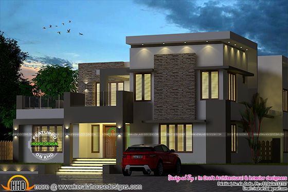 Outstanding Kerala home designs
