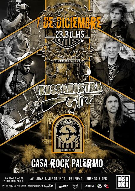 Entrevista a Kossanostra antes de su show en Casa Rock Palermo