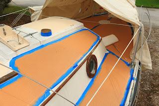 Sailing  HideAway Refit
