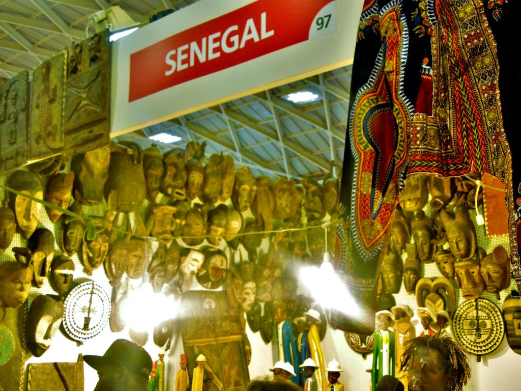 Fiera del Levante gallerie delle nazioni Senegal
