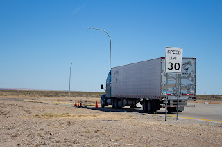 Essential Safety Hints for Owner Operator Truck Drivers - Drive within the Speed Limit