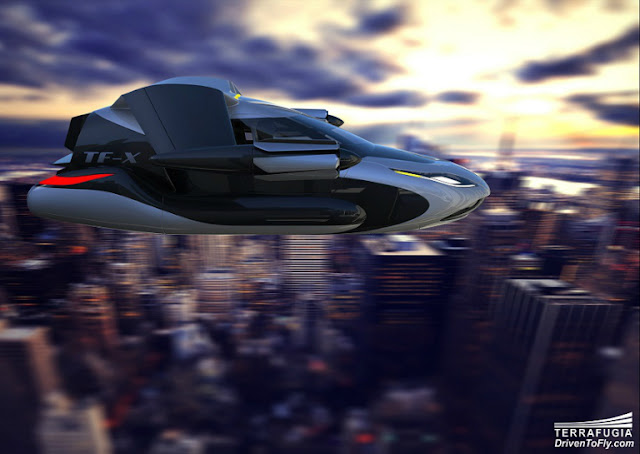 Gambar Mobil Terbang