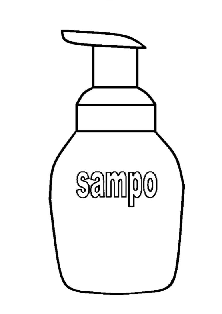Mewarnai Gambar Botol : mewarnai, gambar, botol, Mewarnai, Gambar:, Gambar, Sketsa, Botol, Sampo