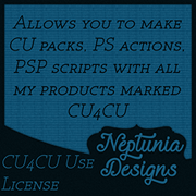 Neptunia Designs CU4CU License