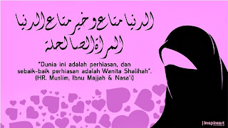 """Kata Mutiara Islam tentang Wanita"""