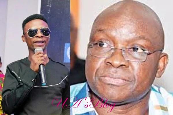 Ekiti: 'You deserve to be attacked' – I Go Dye mocks Fayose