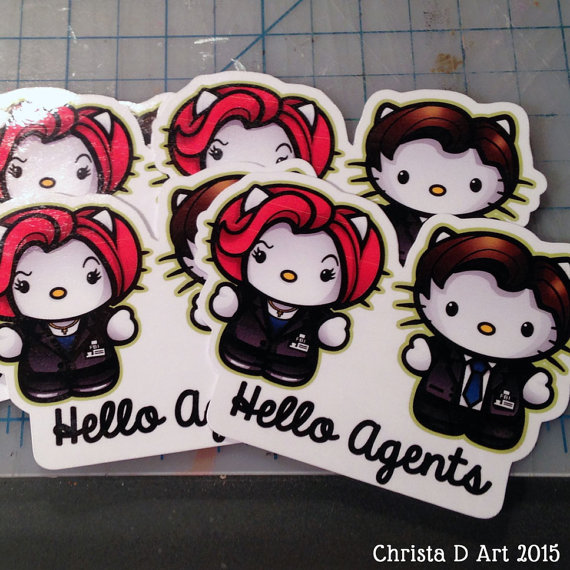 X-Files Hello Kitty