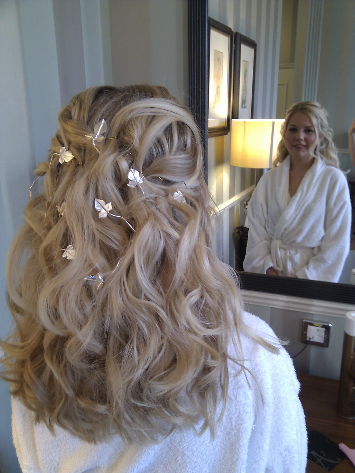 makeup girl says: ivy hair vine - gorgeous bridal hair accessory!