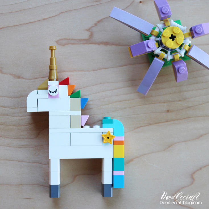 Doodlecraft How To Build Lego Unicorn Instructions 10 Ways
