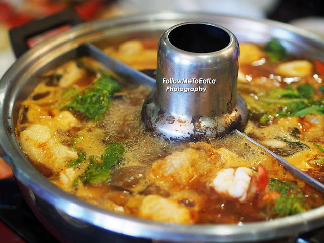 Tom Yam Broth Superbly Cooked With Sourish Acidity & Spicy Heat From Roasted Chilli Paste