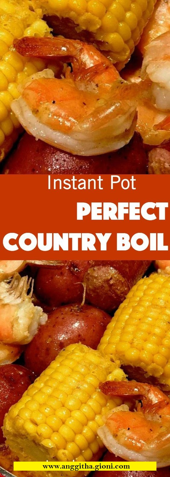 Instant Pot Cajun Shrimp And Sausage Boil