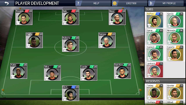 cara cheat dream league soccer player development