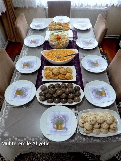 akraba günü çay masası