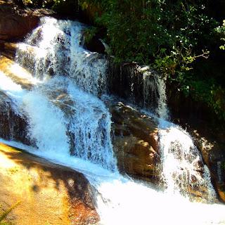 Close da Cachoeira Pedra Branca, Paraty