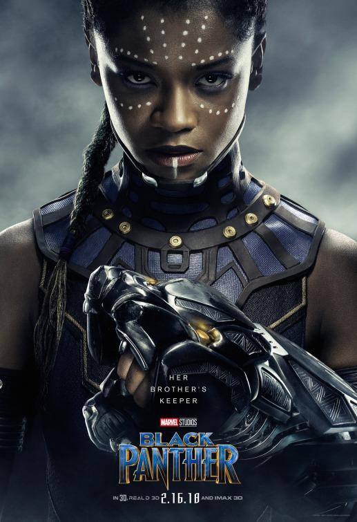 Black Panther Shuri poster